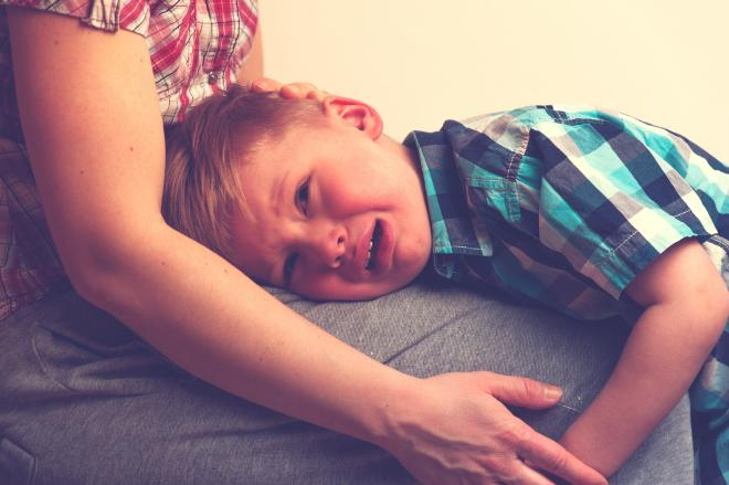 Mother and young child with behavior problems due to anxiety and trauma starting counseling at VCC in Mechanicsburg, PA