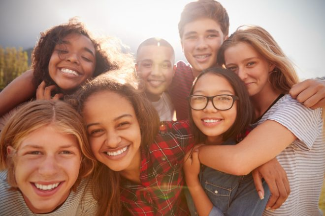 Adolescent and Teens that have overcome stress, self-esteem issues, and troubling fitting in for improved mental health in Mechanicsburg, PA at Valley Counseling Center